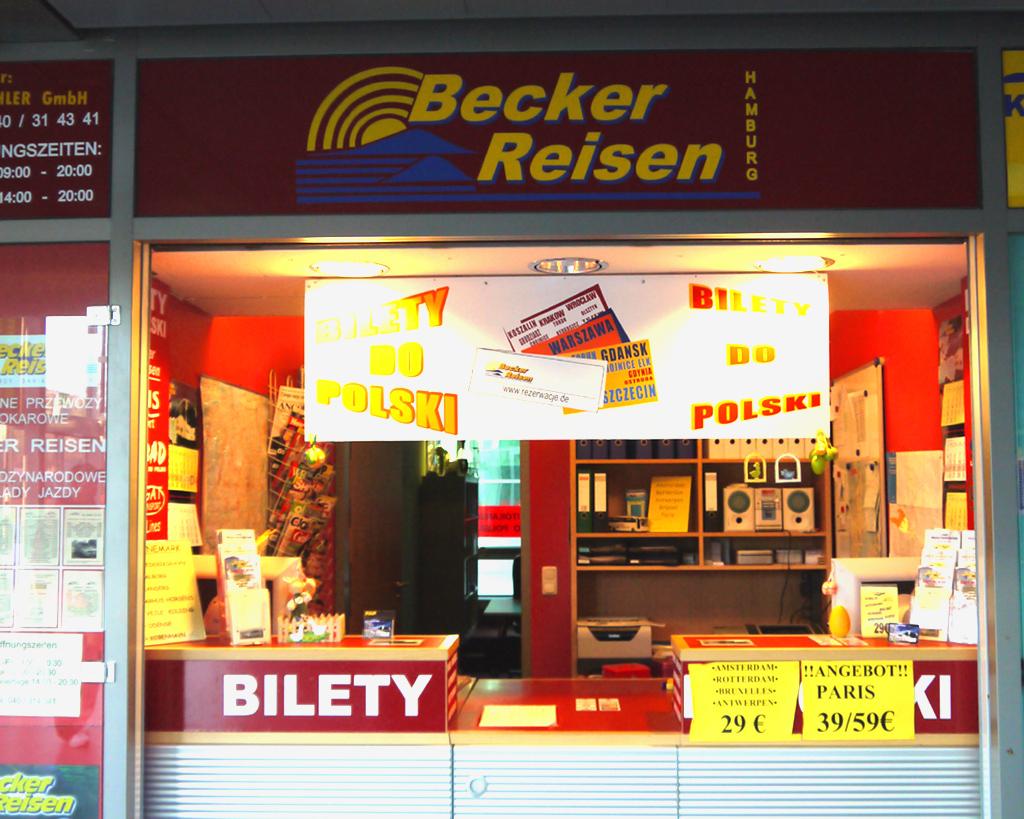 Becker Reisen ZOB